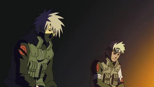 gambar kakashi dan ayahnya 1