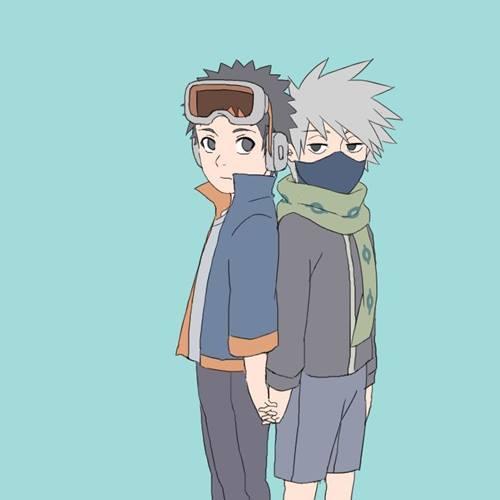 gambar kakashi dan obito 1
