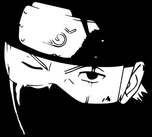 63 Gambar Keren Hitam Putih Anime Gratis Terbaik