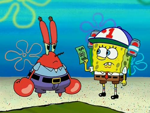 gambar kartun spongebob 3