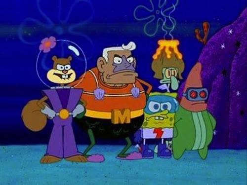 gambar kartun spongebob 4