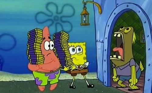 gambar kartun spongebob 5