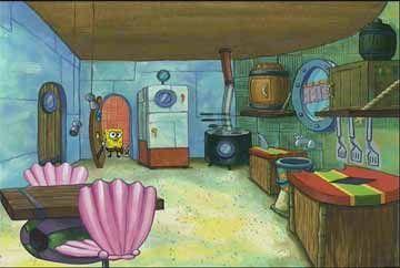 gambar rumah spongebob 3