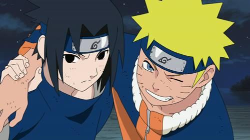 gambar naruto dan sasuke 2