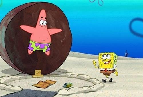 gambar spongebob dan patrick 2