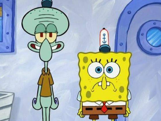 gambar spongebob dan squidward 1