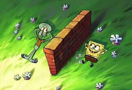 gambar spongebob dan squidward 4