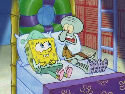 gambar spongebob dan squidward 5