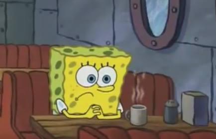 gambar spongebob sedih 5