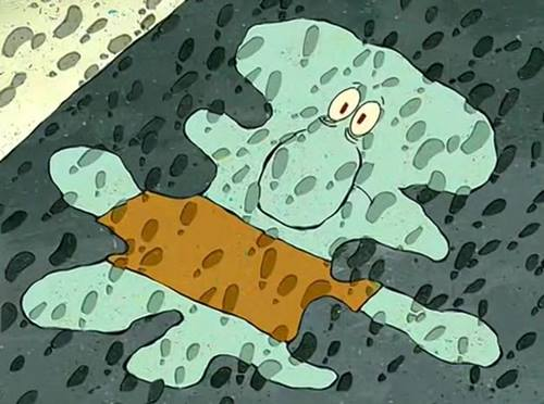 gambar squidward lucu 2