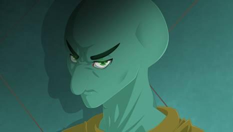 gambar squidward versi anime