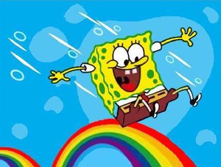 lukisan spongebob 1