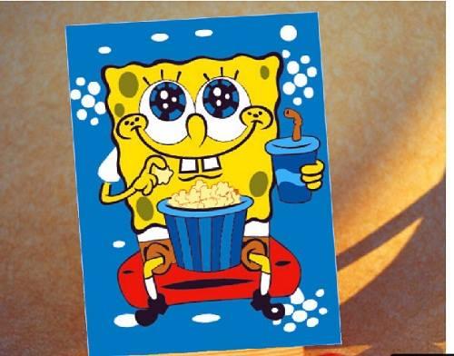 lukisan spongebob 3