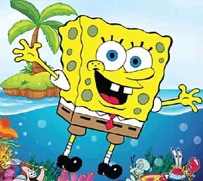 lukisan spongebob 4