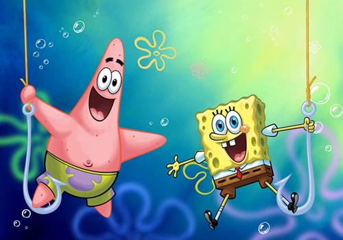 wallpaper spongebob 3