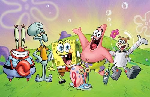 wallpaper spongebob 5