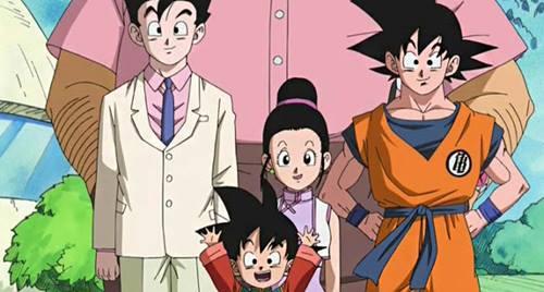 gambar keluarga goku 1