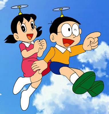 gambar nobita dan shizuka 5