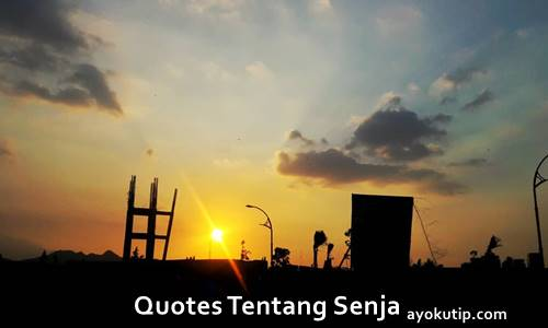quotes, caption, kata-kata senja