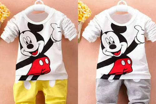 baju mickey mouse 1