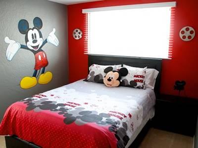 dekorasi kamar mickey mouse 1