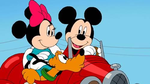 gambar kartun mickey mouse 1