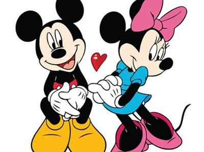gambar mickey mouse dan minnie mouse 2