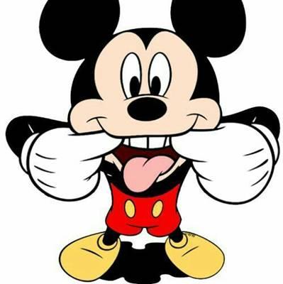 gambar mickey mouse lucu 1