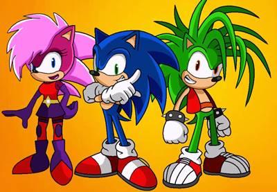 gambar sonic dan teman-temannya 1