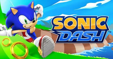 gambar sonic dash 1