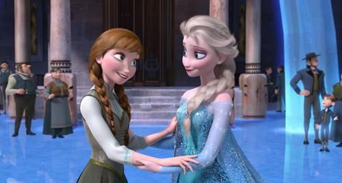 gambar frozen elsa dan anna 1