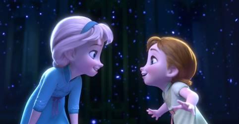 50 Gambar Frozen Elsa Dan Anna Kartun Animasi 3d Hitam Putih