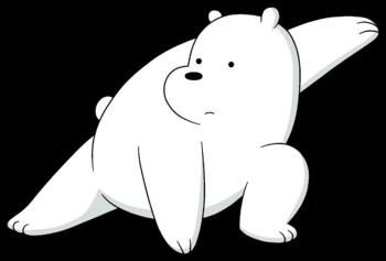 Gambar Kartun Lucu Gambar Kartun Ice Bear Sedih