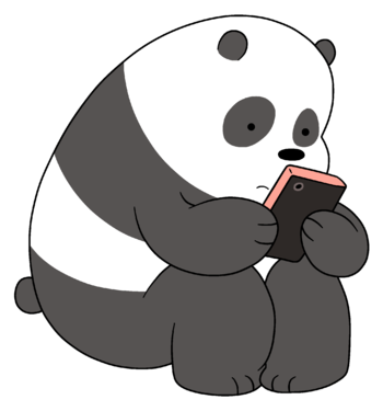 gambar we bare bears panda bear 1
