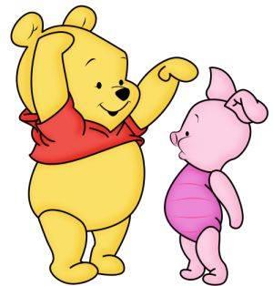 gambar winnie the pooh dan piglet 1