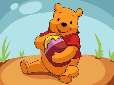 gambar winnie the pooh lucu 1