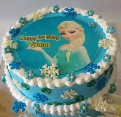 kue ulang tahun frozen 1