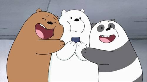 30 Gambar We Bare Bears Foto Wallpaper Grizzly Panda Ice Bear