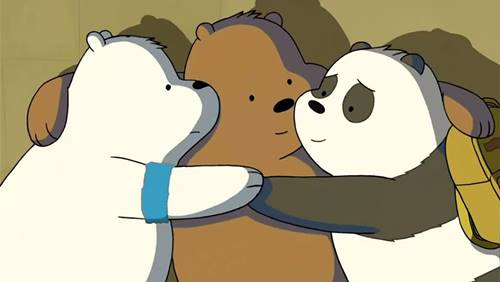 30 Gambar We Bare Bears Foto Wallpaper Grizzly Panda Ice Bear