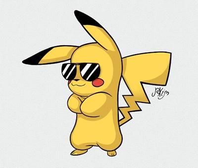 gambar pikachu keren 1