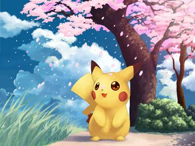 wallpaper pikachu 1