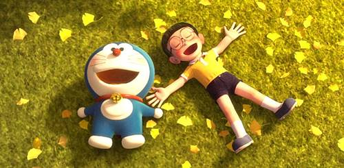 30+ Gambar Doraemon 3D | Film Stand by Me & Wallpaper Grafiti 3D