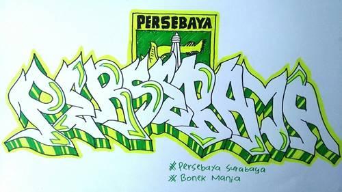 grafiti persebaya 1