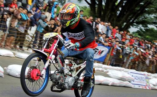 kata-kata drag bike racing